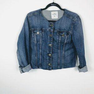 H&M LOGG Label of Graded Goods Jean Jacket 12